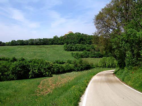 Strada di campagna a Lonigo
