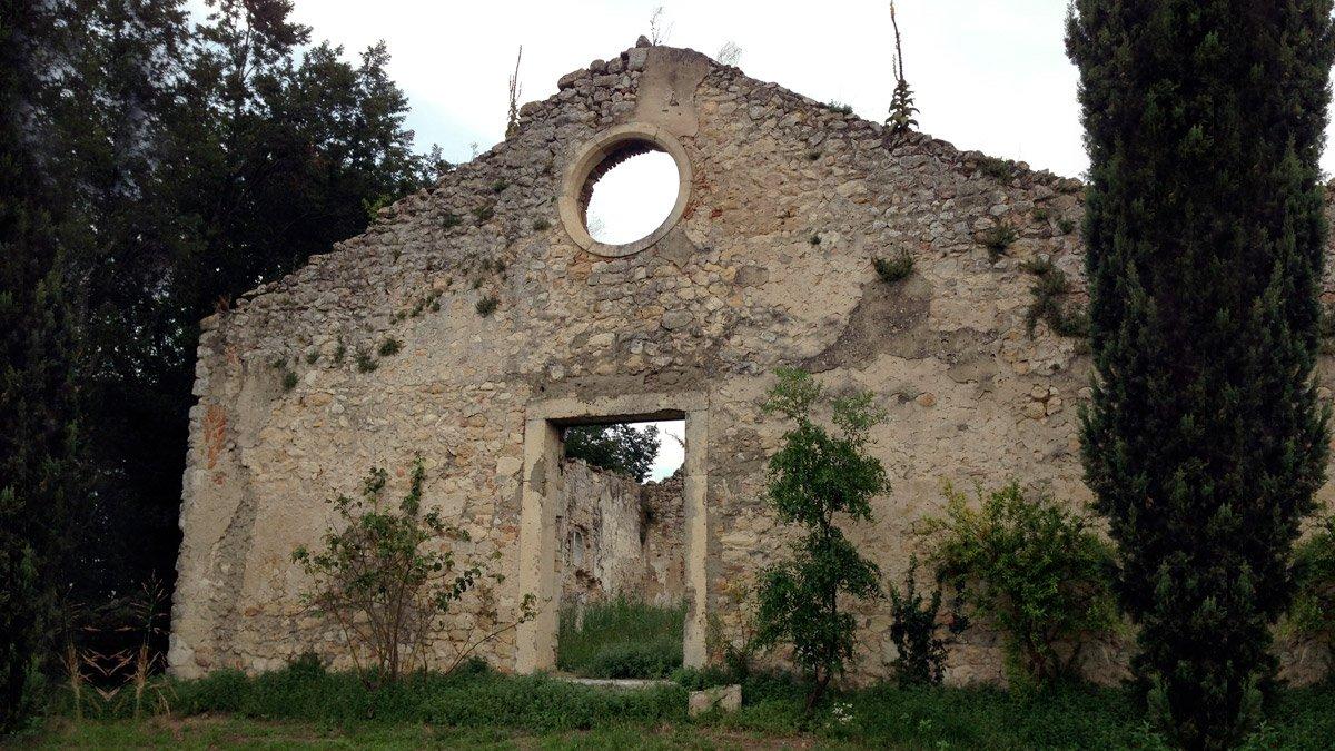 La chiesa vecchia ad Alonte