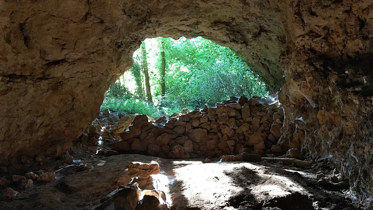 La grotta dei mulini ad Alonte